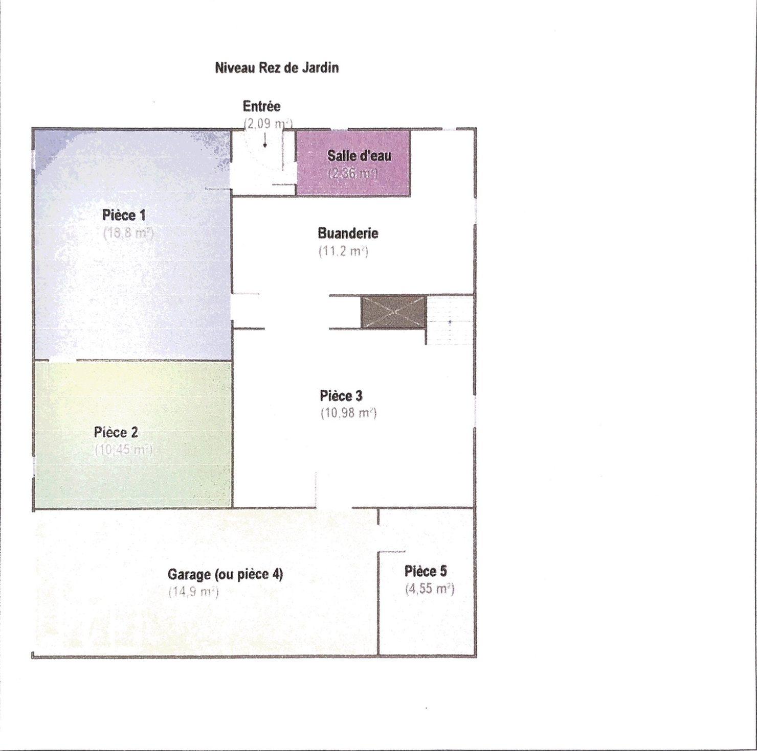 Cuisine équipée 5m2: Maison 5 Pièces à Livry Gargan, 125 M² Environ